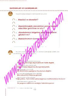 6.Sinif  Turkce Doku Yayinlari Ogrenci Calisma Kitabi Sayfa 132