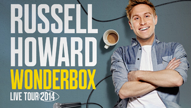 Russell Howard Wonderbox Tour poster