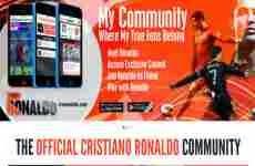 "Cristiano Ronaldo tiene su propia red social: ""Viva Ronaldo"""
