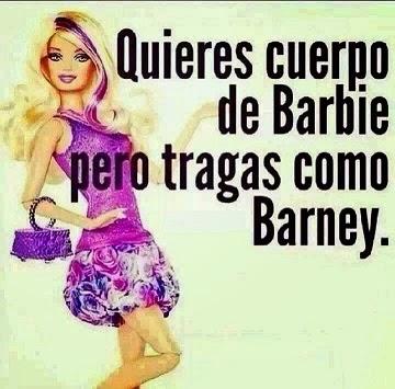 Quieres cuerpo de Barbie pero