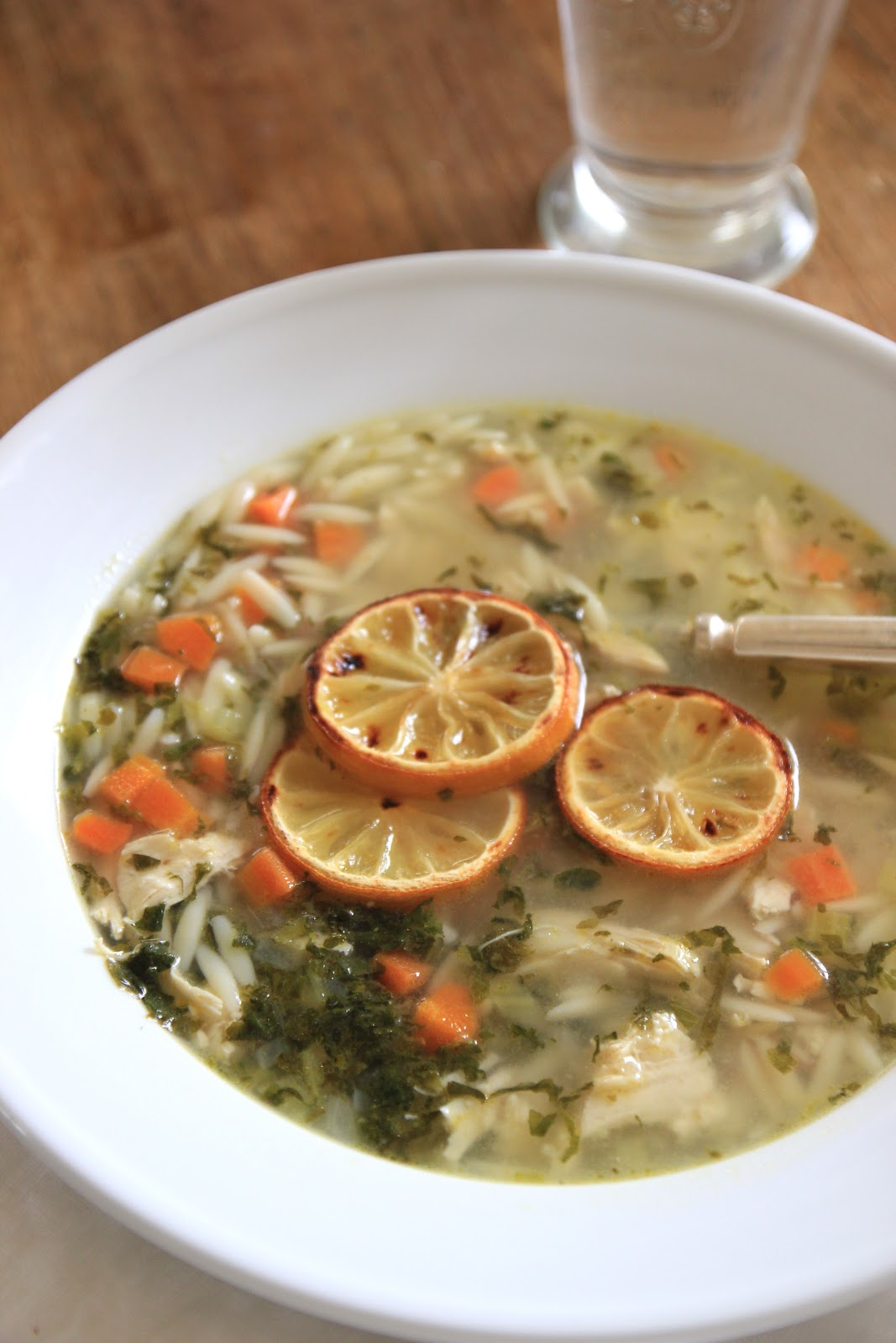 ... ! Here is link to the recipe for Lemon Chicken Orzo Soup on her blog