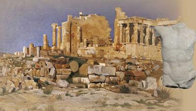 Τα γλυπτά συνομιλούν με την Αθήνα των περιηγητών
