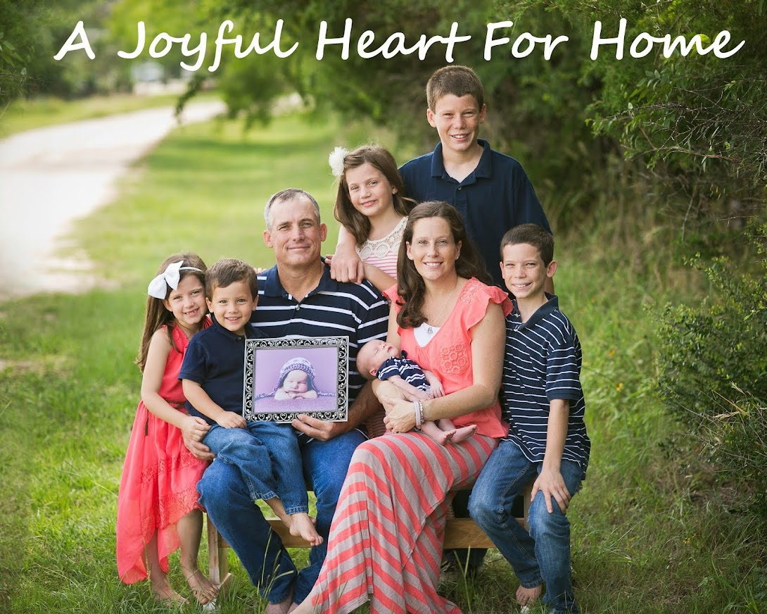 A Joyful Heart For Home