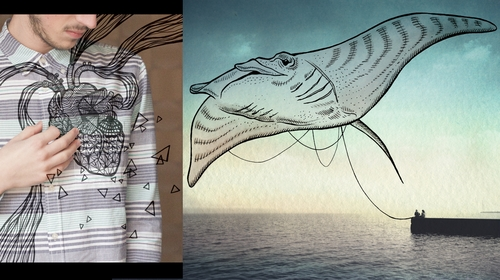 00-Giulia-Pex-Human-Body-and-the-Ocean-Drawings-on-Photos-www-designstack-co
