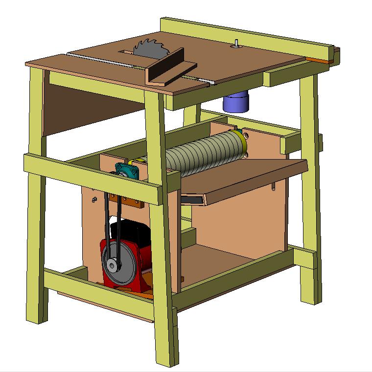 Projet de la machine de l'apprenti luthier...