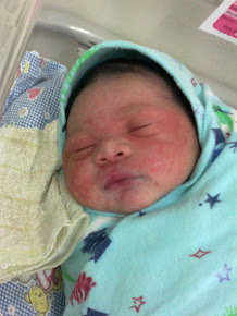 Razin Mikhaill new born @ 1st day
