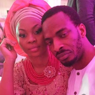 Singer 9ice and his fiancé Olasunkanmi Ajala