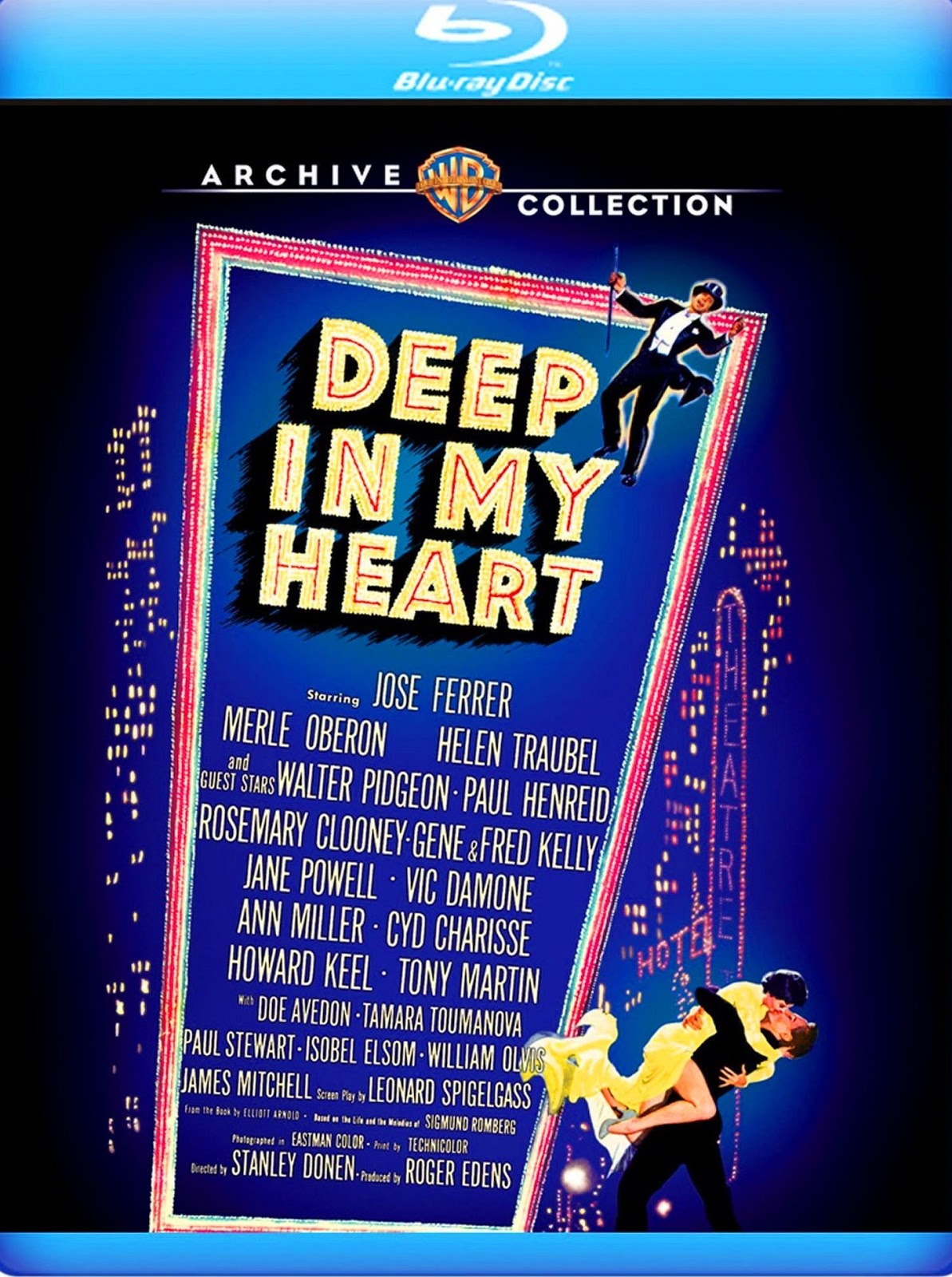 Deep in My Heart (1954 film) NIXPIX DVD BLURAY Reviews DEEP IN MY HEART Bluray MGM 1954