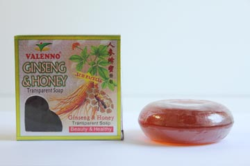 Valenno Ginseng Honey Transparent Soap