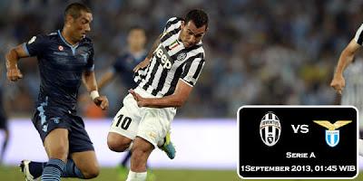 Prediksi Skor Juventus vs Lazio 01 September 2013