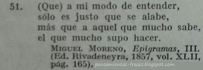 frases de Miguel Moreno