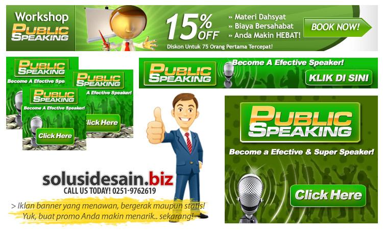 Contoh desain banner iklan dari solusidesain.biz