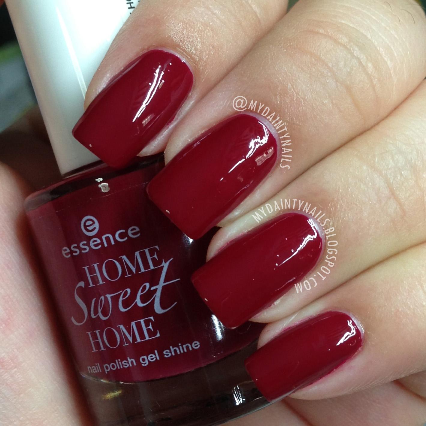 My Dainty Nails: Essence Home Sweet Home Nail Polish