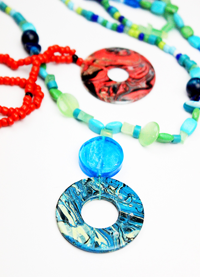 Alisaburke marbleized washer necklace did you know that the hardware store is one of the best places to shop for creative projects and at about twenty five cents washers are one of my favorite aloadofball Images