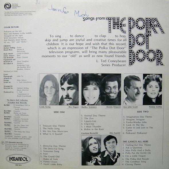 The Polka Dot Door!  sc 1 st  Another Crazy Vinyl Blog! & Another Crazy Vinyl Blog!: The Polka Dot Door!