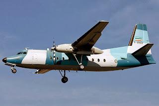 Fuerzas Armadas de Iran A_Fokker_27_of_Navy_of_Iran
