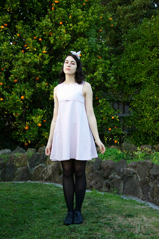 1960's pastel shift dress