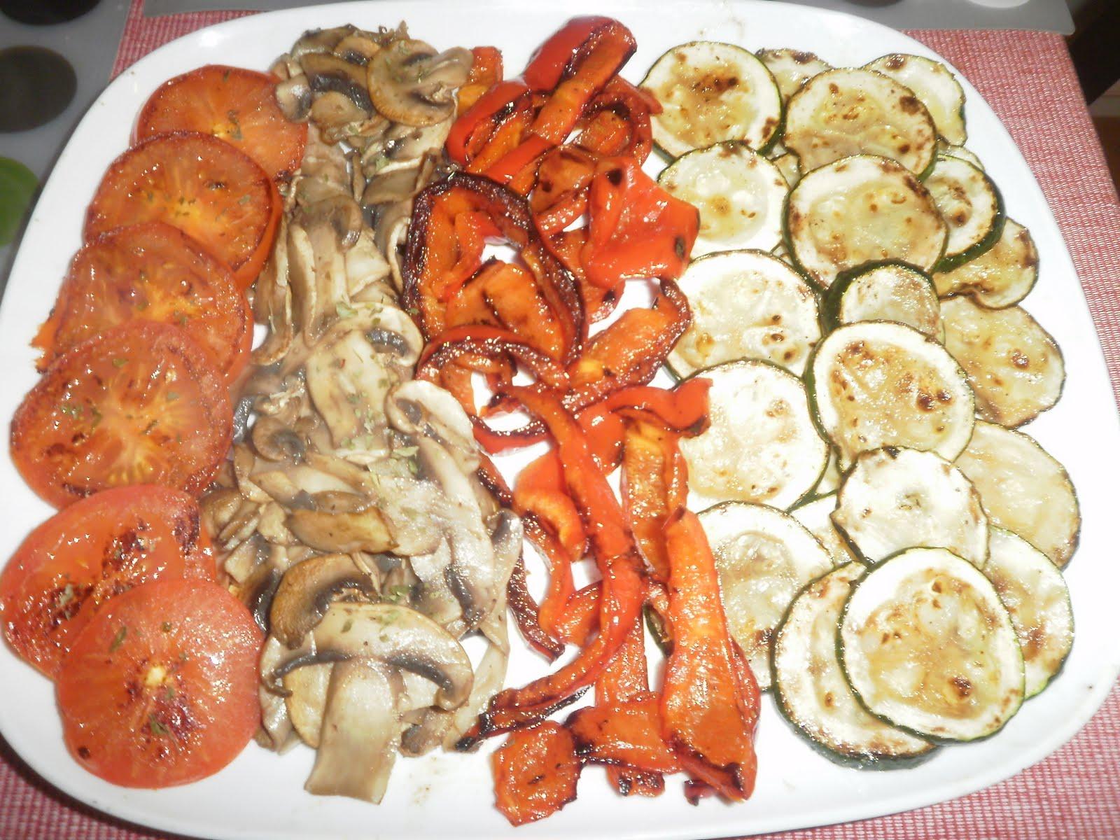 Una olla y laurel parrillada de verduras for Parrillada verduras