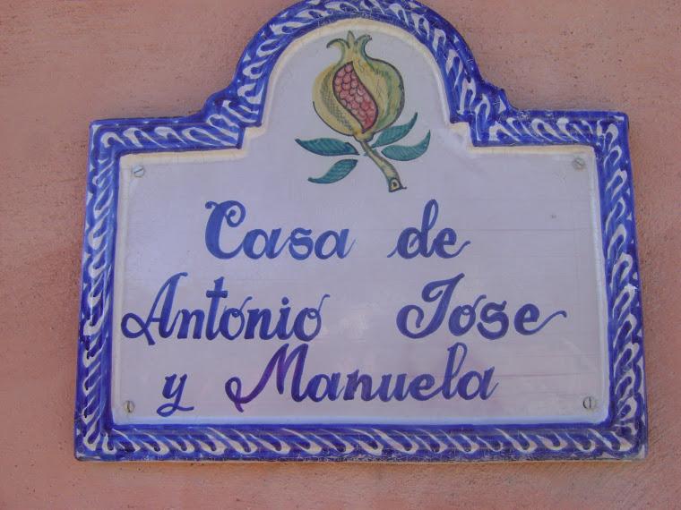 """""""La casa de Antonio José y Manuela"""""""
