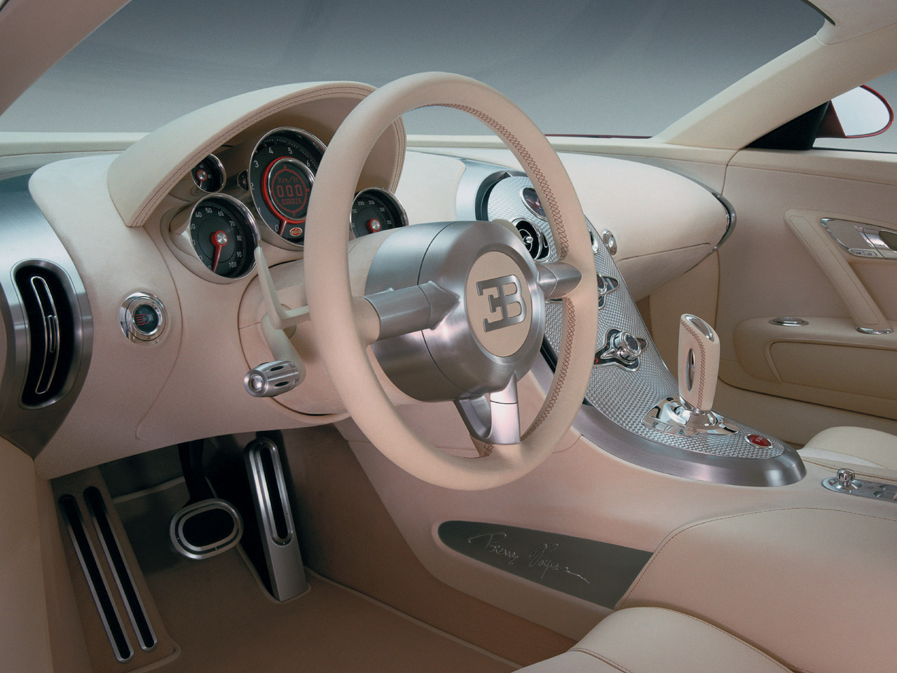 Fast cars online bugatti veyron interior for Interieur voiture