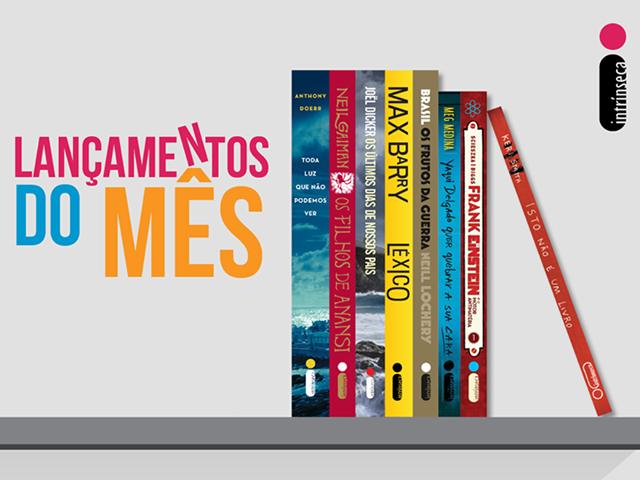 Lançamento de Livros - Abril / Editora Intrínseca