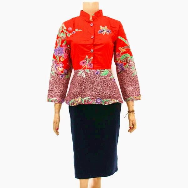 Baju Batik Blus