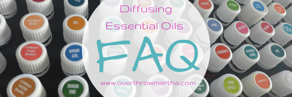 FAQ about diffusing essential oils in your home