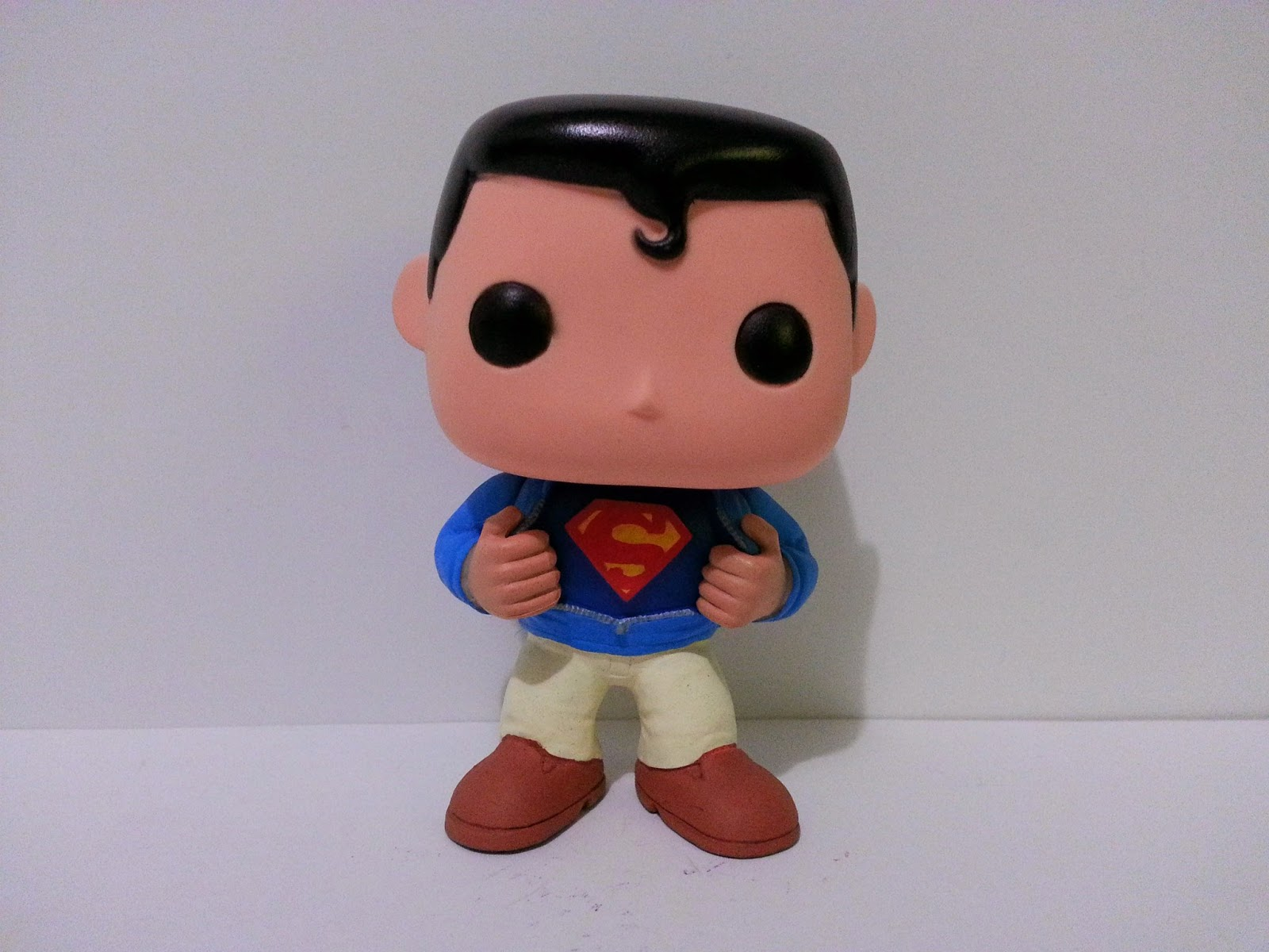 Funko Pop! Custom Superman / Clark Kent