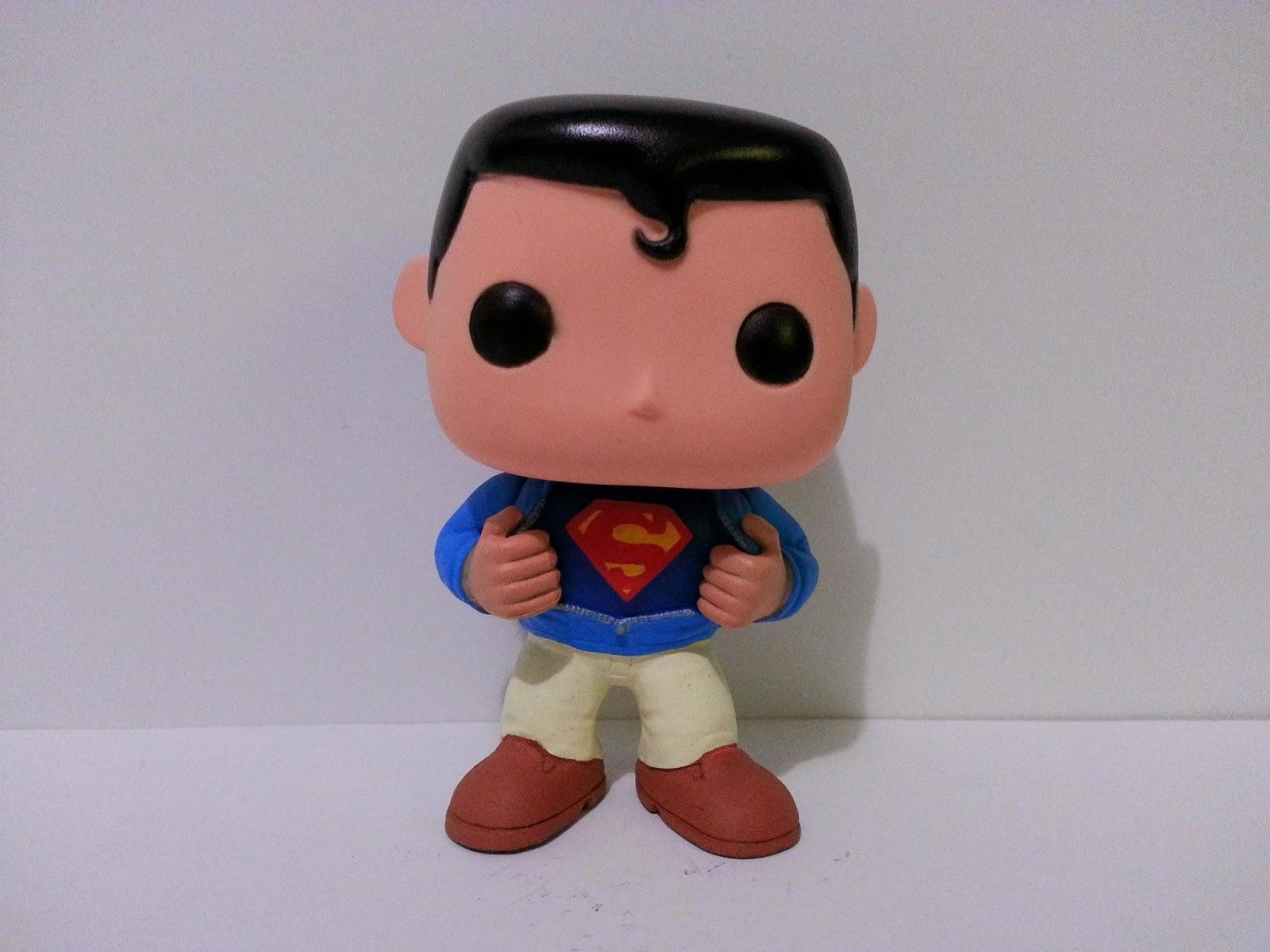 Funko Pop! Custom Superman / Clark Kent