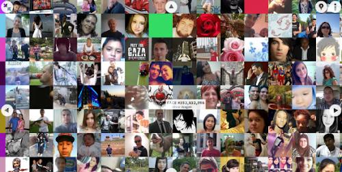 Faces of Facebook Mostra Cronologicamente 1.2B+ Imagens de Perfil