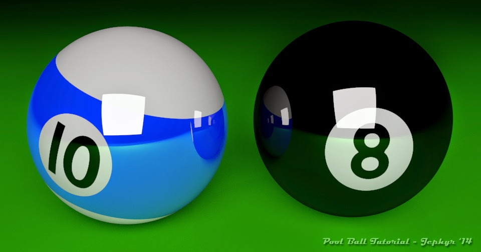 Pool Ball Tutorial Image Two:  Jephyr 2014