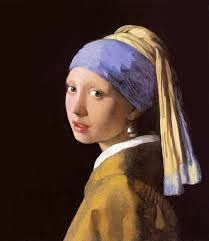 Dutch artist Vermeer's Girl with the pearl earring