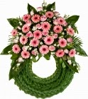 Funeral wreath delivery in Bermuda
