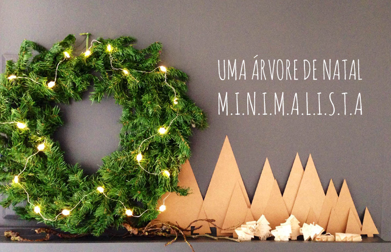 ideia de árvore de Natal charmosa, atual e fácil de fazer, Foto: Nalini Rugue