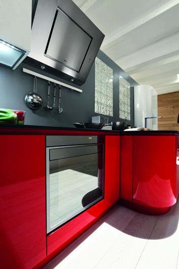 perfect cocina roja y blanca with cocinas rojas y blancas - Cocinas Rojas Y Blancas