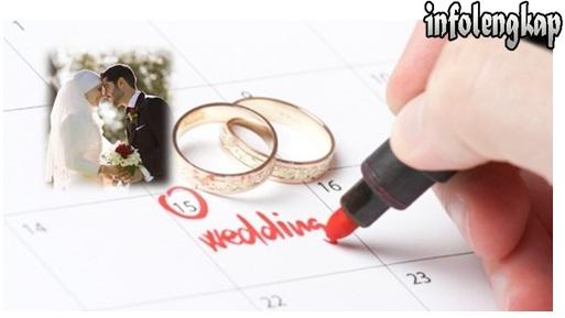 Tips Cara Menentukan Hari Pernikahan Terbaik