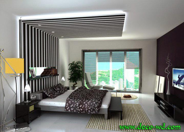 ديكور أسقف غرف نوم