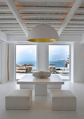 Un faro de ideas hotel de lujo en mikonos grecia Casas griegas antiguas