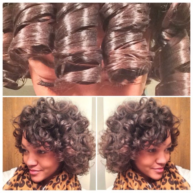 Beauty By Jae Lynn Large Perm Rod Set On Natural Hair