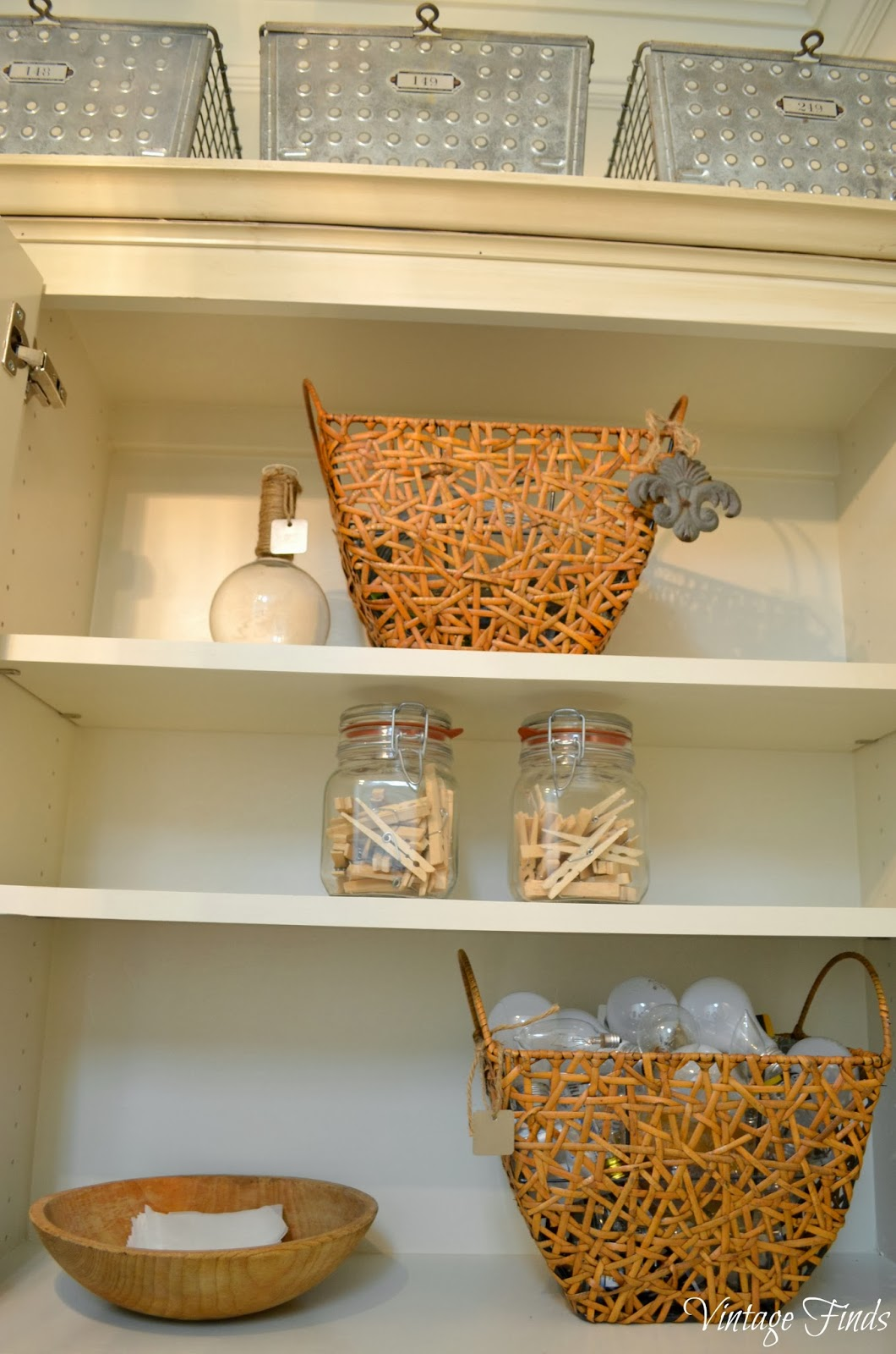 Vintage Finds New House Laundry Room