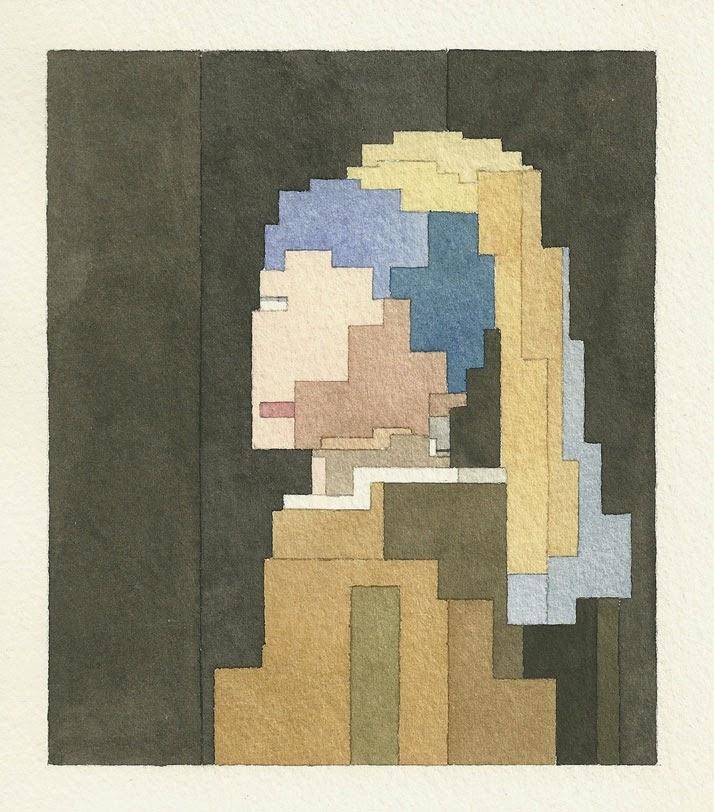 Adam Lister, acuarelas 8 bits