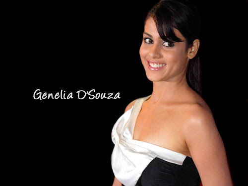 Genelia D'souza Bollywood Babe Wallpaper