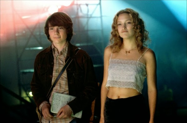Patrick Fugit and Kate Hudson in Almost Famous