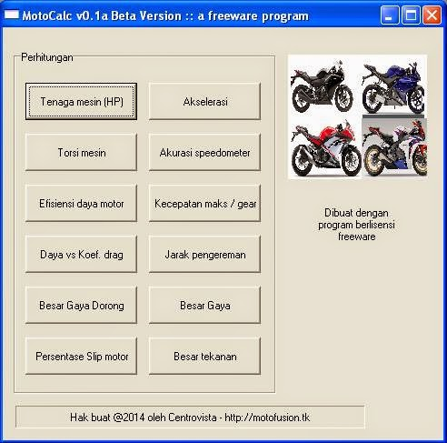 motocalc software download image