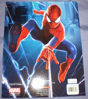 Back cover of Amazing Spider-Man portfolios 2014 edition #3
