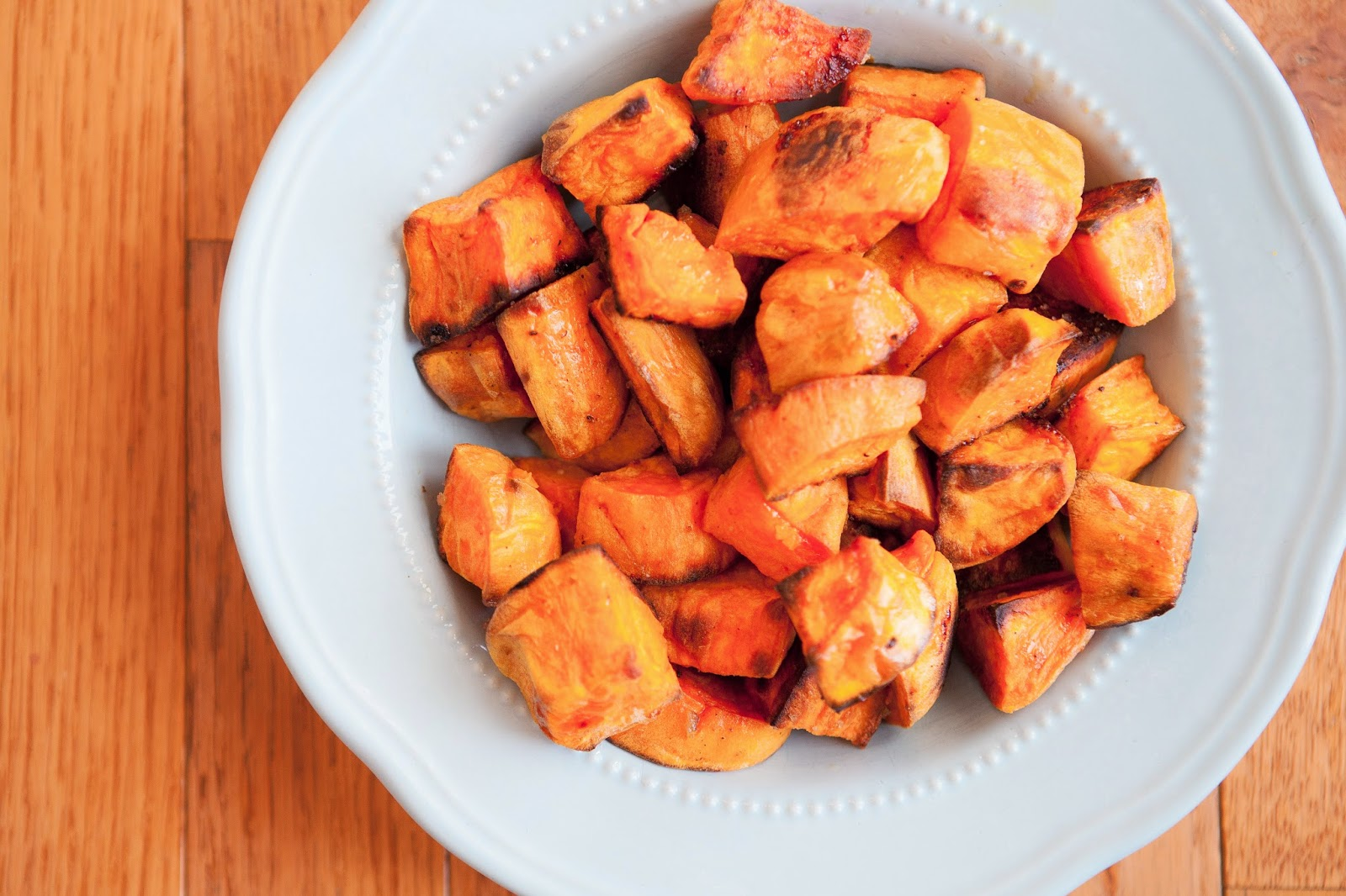 Casual Cuisine Delicious Roasted Sweet Potatoes