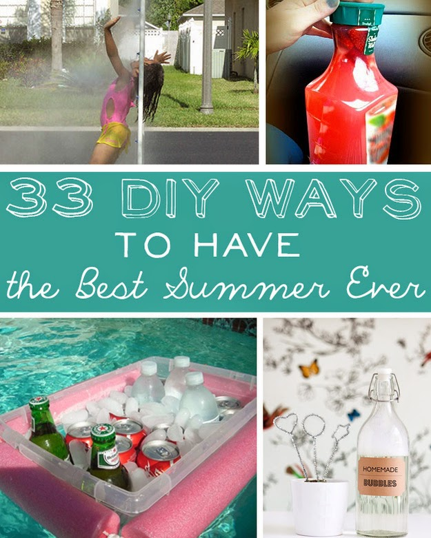 33 DIY Ways To Have The Best Summer Ever