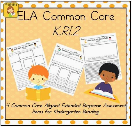 http://www.teacherspayteachers.com/Product/Kindergarten-Reading-Extended-Response-Set-KRI2-839699