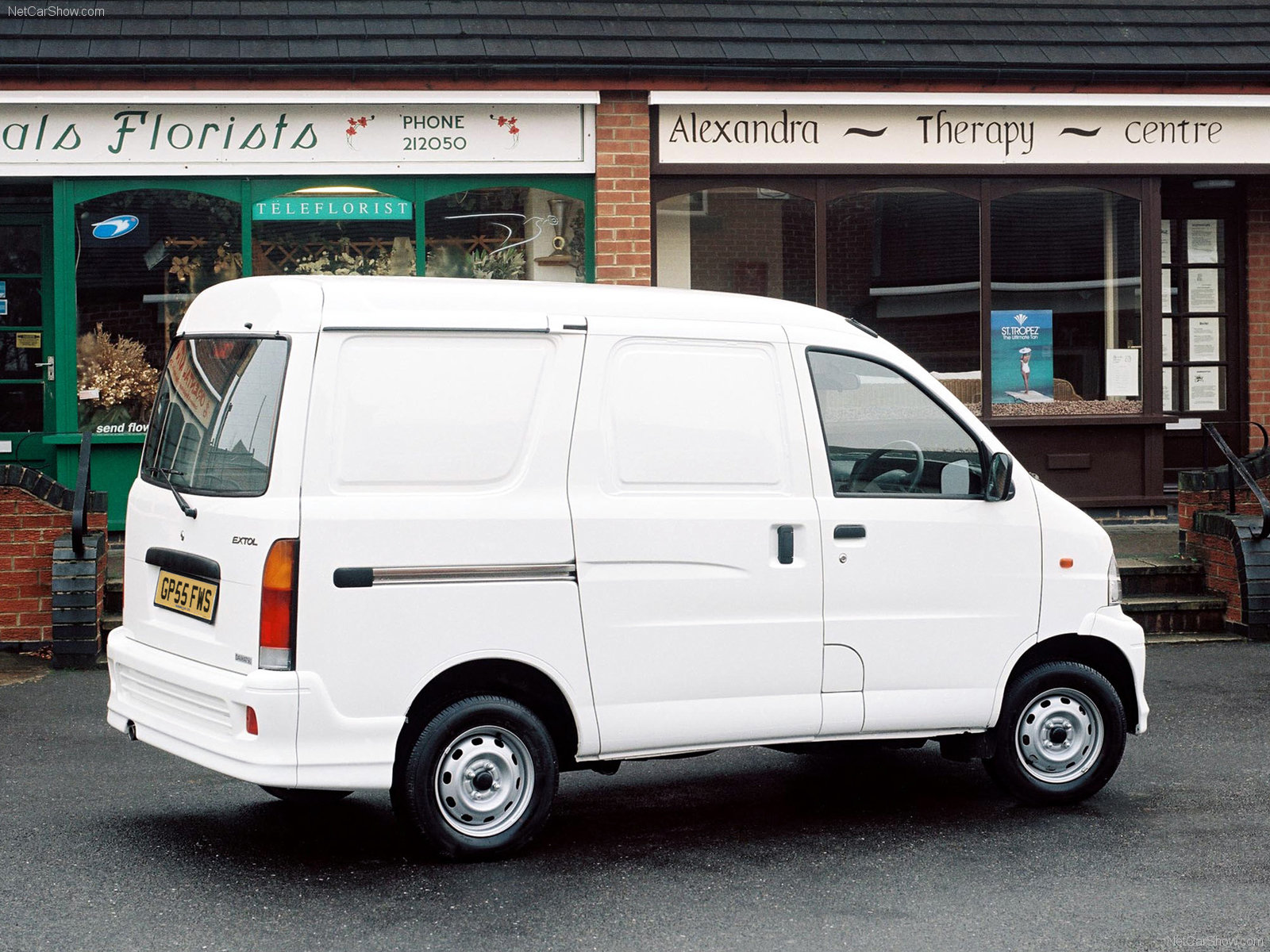Hình ảnh xe ô tô Daihatsu Extol Compact Van 2005 & nội ngoại thất