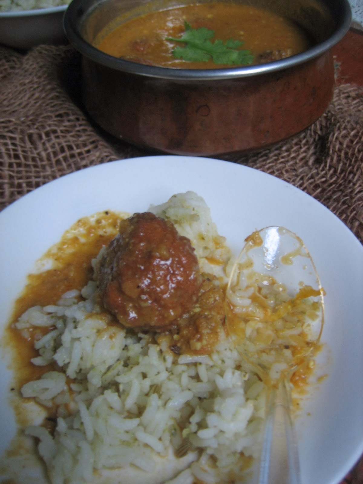 lauki/ bottle gourd kofta curry 4